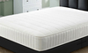 Mattresses Savoy White 4ft Small Double Memory Foam 1000 Pocket Sprung Mattress