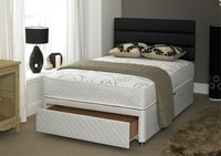 Divan Beds  - Vitality 1500 Pocket Memory 4ft Small Double Divan Bed