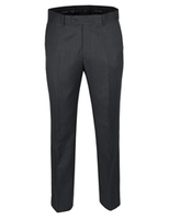 Trousers & Shorts  - Jeff Banks Black Nailhead Suit Trouser 34S Black