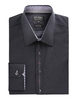 Stvdio by Jeff Banks Black Polka Dot Shirt 18 Black