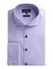 Stvdio by Jeff Banks Lilac Micro Dobby Stripe Shirt 16 LILAC