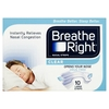 Breathe Right Clear Nasal Strips Large - 10 quantity - 10 Large