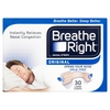 Breathe Right Tan Nasal Strips Large - 30 quantity - 30 Large