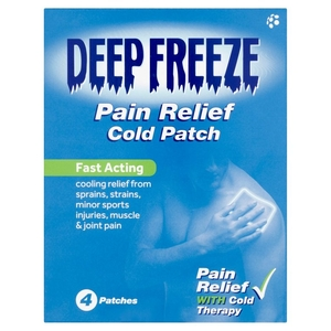Rheumatic, Muscle & Arthritic Care  - Deep Freeze Cold Patch - 4 quantity - 4 Patches