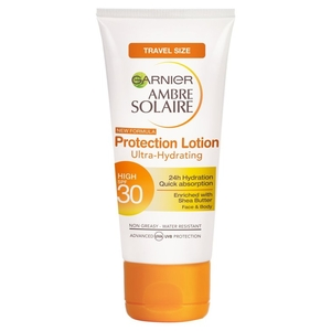 Sun Protection  - Garnier Ambre Solaire High SPF30 Protection Lotion Face & Body quantity - 50ML