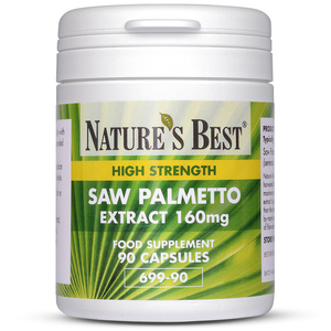 Food Supplements  - Saw Palmetto 1440mg quantity - 90 Capsules