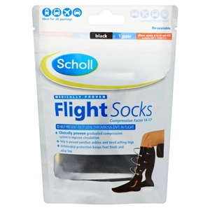 Socks & Hosiery  - Scholl Cotton Feel Flight Socks - Size 6.5 - 9 quantity - 1 PAIR