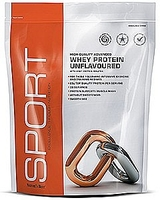 Gym & Exercise Equipment  - Unflavoured Protein Powder Flavour - Unflavoured 1000g