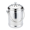 Kitchen1500 Biard ECO Large 4.5 Litre Filtered Stainless Steel Kitchen Caddy