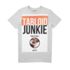 Clothing|T-Shirts, Polos & Tops blood brother tabloid junkie grey marl t-shirt
