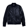 Clothing|Jackets Mens Decor Navy Leather Jacket