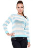 Amelia Crochet Striped Jumper
