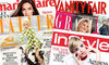 50% off a £20 Magazinesubscriptions.co.uk voucher valid against 30+ titles,  including Grazia,  InStyle,  Tatler,  OK and more..