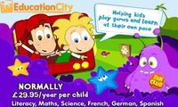 Gifts  - 50% off EducationCity.com One Year Subscription - A Great Way to Start the New School Year! EXTENDED