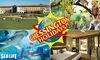 Chessington Safari Hotel,  SEA LIFE and Zoo entry tickets - Kids Go FREE this half term! With an exclusive extra 10% off! Overnight Stays from only £71.10,  Enjoy Themed Activity Breakfast & Visit SEA LIFE and Chessington Zoo.