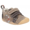 Low Shoes Cruiser Mate Boys Casual Cruiser in Tan Leather