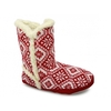 Slippers & Clogs SUSAN Womens Scandi Bootie Slippers Red