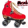 Roller skates Moxi Lolly - Poppy Red Quad Roller Skates