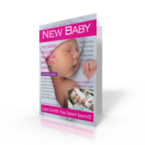 Jumbo Cards > Other Occasions  - Jumbo Card Congrats New Baby Girl Spoof