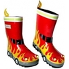 Childrens Clothing Fireman Wellington Boots (Shoe Size: 4)