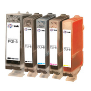 Ink Cartridge > Canon  - Replaces Canon PGI-5 and CLI-8 Ink Cartridge - Multipack (0628B025)