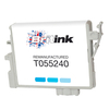 Replaces Epson T0552 Ink Cartridge - Cyan (C13T05524010)