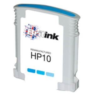 Ink Cartridge > HP  - Replaces HP 10 Ink Cartridge - Cyan (C4841A)