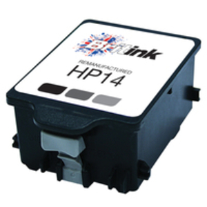 Ink Cartridge > HP  - Replaces HP 14 Ink Cartridge - Black (C5011DE)