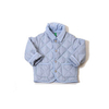 Jackets & Coats Benetton Kids Quilted Jacket in Light Blue