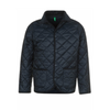 Jackets & Coats Benetton Kids Quilted Jacket in Navy with Navy Buttons