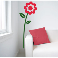 Home Wall Stickers  - Dahlia Wall Sticker - Duo