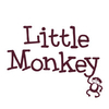 Home Wall Stickers Little Monkey - Text Wall Sticker