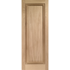 Euston Oak One Panel Door with Fluted Inlay