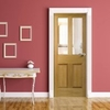 Malton Oak Door with Safety Glass Options