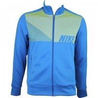 Clothing > Knitwear  - Cover Up Golf Jacket Military Blue-Venom Green SS14