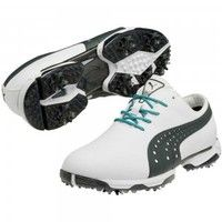 Footwear > Shoes  - Neo Lux Golf Shoes White-Ebony SS14