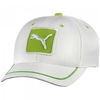 Accessories > Caps Patch Relaxed Fit Golf Cap White-Lime Green SS14