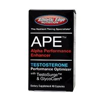 Testosterone Boosters  - Athletic Edge Nutrition APE (40 Caps)