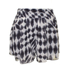 Shorts LOVE Black And White Leaf Print Shorts