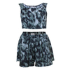 Tops REWORKED VINTAGE Camo Two Piece Set