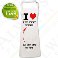 Personalised Aprons  - I Heart Apron