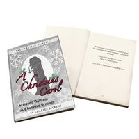 Personalised Christmas Presents  - Personalised A Christmas Carol Novel
