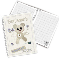 Personalised Cotton Zoo  - Tweed the Bear Book
