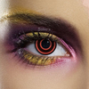Accessories > Contact Lenses Crazy Eye Bulls Eye Contact Lenses