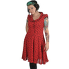 Women > Dresses Voodoo Vixen Red Tea Dress