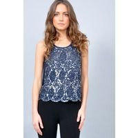 Tops  - TFNC Abria Embellished Top