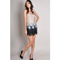 Dresses  - TFNC Angelina Ombre Sequin Dress