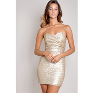 TFNC Sophie Sequin Dress