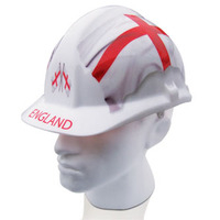 Housewarming Gifts > Garden Gift Ideas  - England St Georges Flag Safety Hat