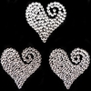 Adult Gifts > Sexy Gifts for Him & Her Swirling Heart Crystal Vajazzles